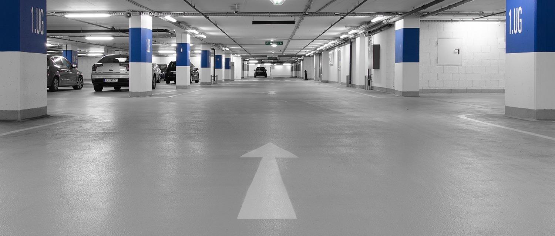 Parkhausboden
